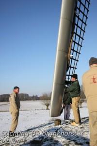 4 februari 2012: Winter bij de Bronkhorster Molen