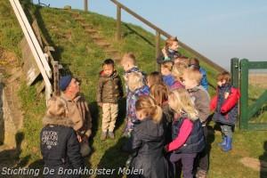21 maart 2014: Bezoek kleuters Prinses Margrietschool Spankeren