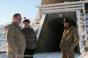 10 januari 2009: Kinderboerderij Feltsigt laat rogge malen