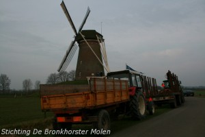 14 maart 2009: Het Steenders Landschap werkochtend vanuit de Molen