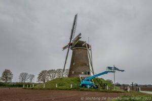Voldoende wind tijdens Nationale Molendag in Bronckhorst